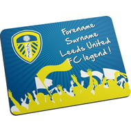 Personalised Leeds United FC Legend Mouse Mat