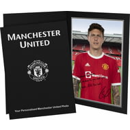 Personalised Manchester United FC Lindelof Autograph Photo Folder