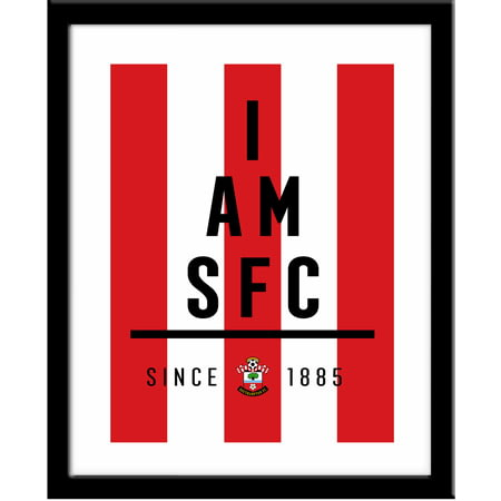 Personalised Southampton I Am Framed Print