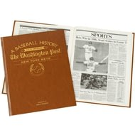 Personalised New York Mets Baseball Newspaper Book