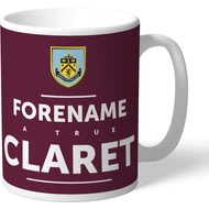 Personalised Burnley True Mug