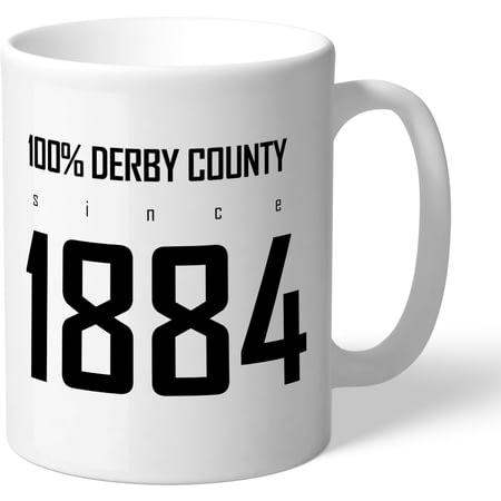 Personalised Derby County 100 Percent Mug