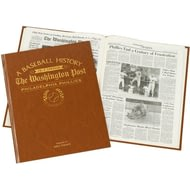 Personalised Philadelphia Phillies Baseball Newspaper Book