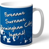 Personalised Birmingham City FC Legend Mug