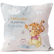 Personalised Winnie The Pooh & Tigger Let's Take A Journey Together Cushion - 45x45cm