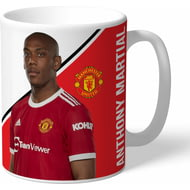 Personalised Manchester United FC Martial Autograph Mug