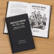 Personalised Newcastle United On This Day Football History Book