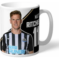Personalised Newcastle United FC Ritchie Autograph Mug