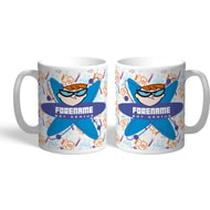Personalised Dexter's Lab Boy Genius Mug