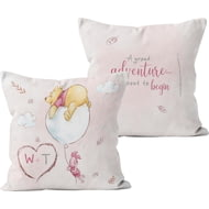 Personalised Winnie The Pooh & Piglet A Grand Adventure Cushion - 45x45cm