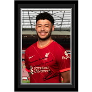 Personalised Liverpool FC Oxlade-Chamberlain Autograph Photo Framed