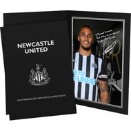 Personalised Newcastle United FC Lascelles Autograph Photo Folder