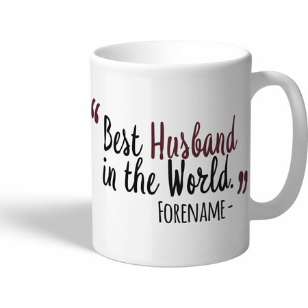 Personalised West Ham United Best Husband In The World Mug