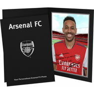 Personalised Arsenal FC Aubameyang Autograph Photo Folder