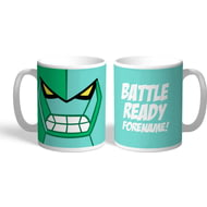 Personalised Ben 10 Diamondhead Flat Hero Time Mug