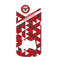 Personalised Brentford FC Patterned Bottle Shaped Bottle Opener