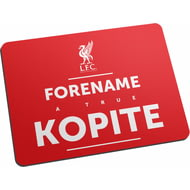 Personalised Liverpool FC True Mouse Mat