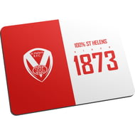 Personalised St Helens 100 Percent Mouse Mat