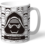 Personalised Star Wars Kylo Ren Icon Mug