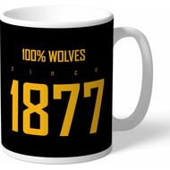 Personalised Wolves 100 Percent Mug