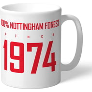 Personalised Nottingham Forest FC 100 Percent Mug