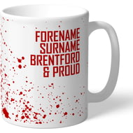 Personalised Brentford FC Proud Mug