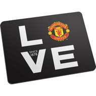 Personalised Manchester United FC Love Mouse Mat