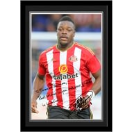 Personalised Sunderland AFC Kone Autograph Photo Framed