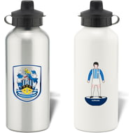Personalised Huddersfield Town AFC Player Figure Aluminium Sports Water Bottle