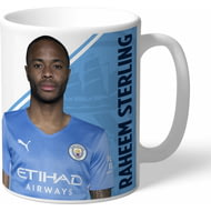 Personalised Manchester City FC Sterling Autograph Mug
