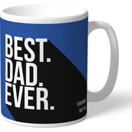 Personalised Sheffield Wednesday Best Dad Ever Mug