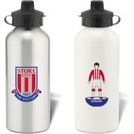 Personalised Stoke City Player Figure Water Bottle