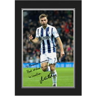 Personalised West Bromwich Albion FC Morrison Autograph Photo Folder