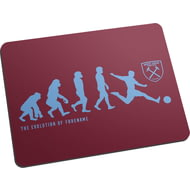 Personalised West Ham United FC Evolution Mouse Mat