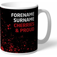 Personalised AFC Bournemouth Proud Mug
