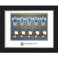 Personalised Huddersfield Town AFC Dressing Room Shirts Photo Folder