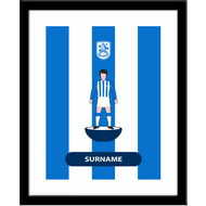 Personalised Huddersfield Town AFC Player Figure Framed Print