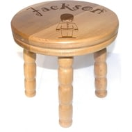 Children's Soldier Wooden Stool