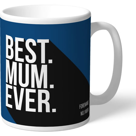 Personalised Cardiff City Best Mum Ever Mug
