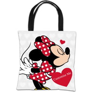 Personalised Disney Valentines Minnie Mouse Tote Bag