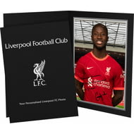 Personalised Liverpool FC Keita Autograph Photo Folder