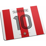 Personalised Southampton FC Retro Shirt Mouse Mat