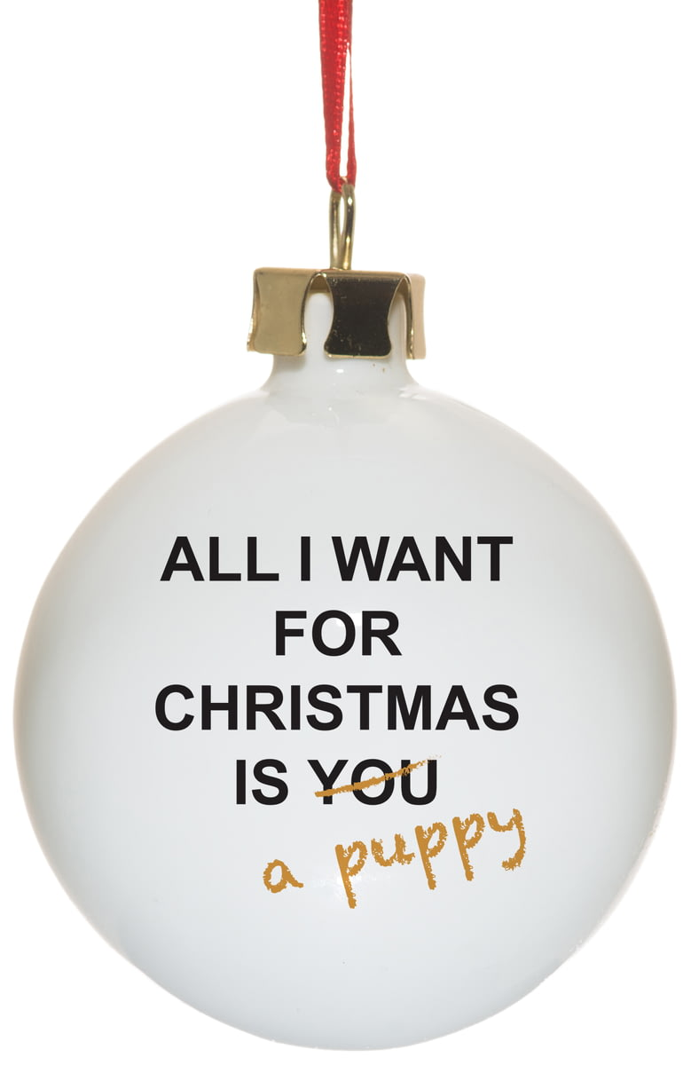 🎁Buy your Personalised All I Want For Christmas Ceramic Christmas ...