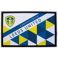 Personalised Leeds United FC Patterned Door Mat