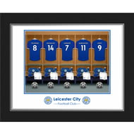 Personalised Leicester City FC Dressing Room Shirts Photo Folder