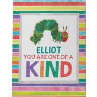 Personalised Very Hungry Caterpillar One Of A Kind Canvas