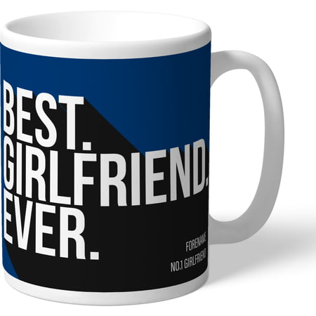 Personalised Bolton Wanderers Best Girlfriend Ever Mug