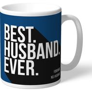 Personalised Cardiff City Best Husband Ever Mug