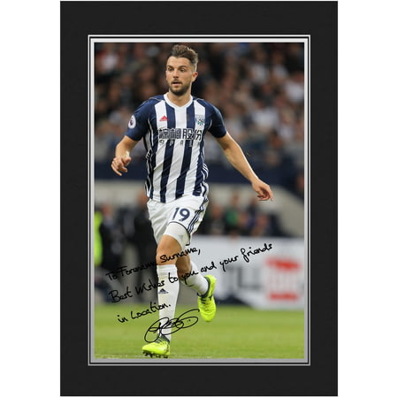 Personalised West Bromwich Albion FC Rodriguez Autograph Photo Folder