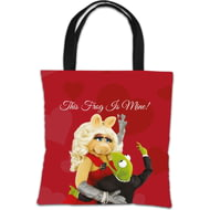 Personalised The Muppets Kermit And Miss Piggy This Frog Is Mine Tote Bag